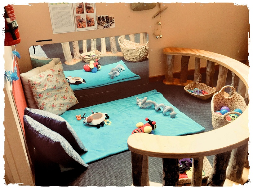 Natural indoor play and learning spaces in our recommended preschool in the Auckland CBD and Newmarket areas