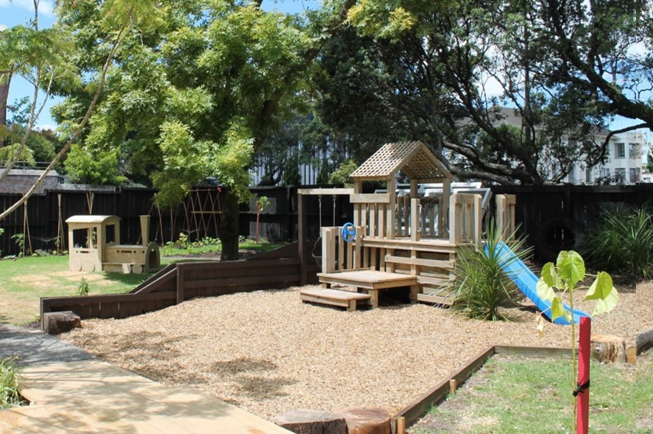 Spacious, fun, natural playground that feels like home for those who live near Remuera, Auckland CBD, One Tree Hill, Three Kings, Newmarket, Mt Eden, Epsom, Greenlane, Khyber Pass Rd, North Shore, Takapuna, Albany, Grafton